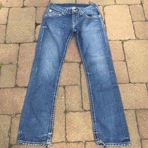 True Religion Straight Leg Jeans 29x33